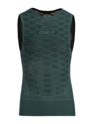 cycling base layer olive green Q36.5 - 080.14