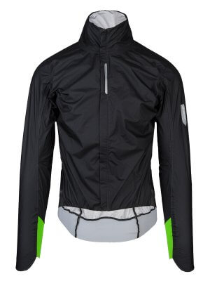 R.Shell Protection X, chaqueta ciclismo impermeable negra