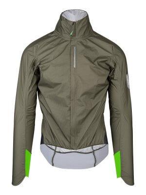 R.Shell Protection X, giacca antipioggia ciclismo verde oliva