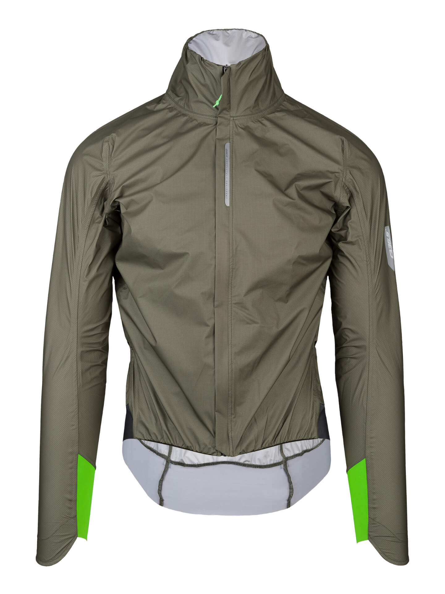 R.Shell Protection X, chaqueta ciclismo impermeable oliva