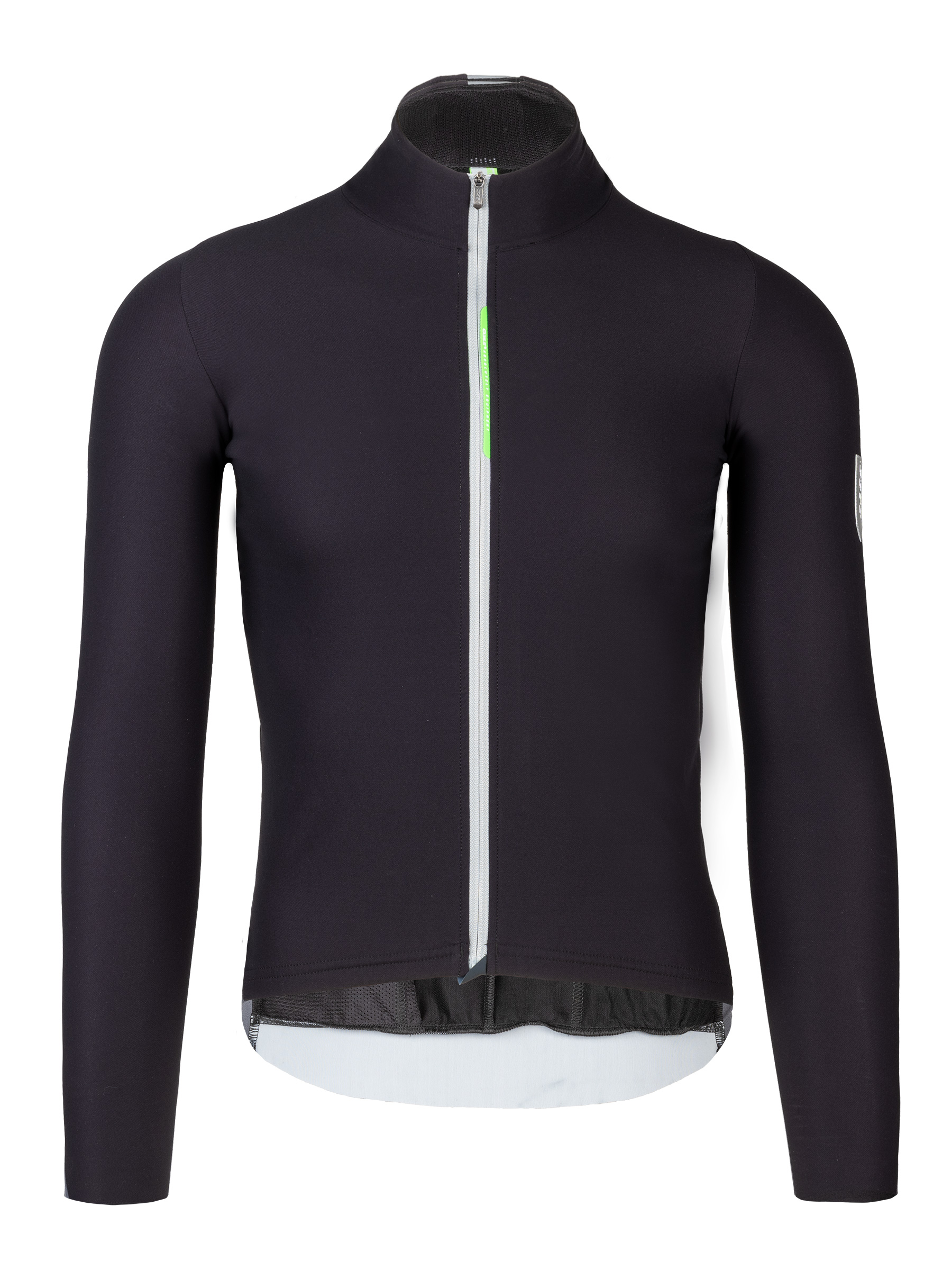 cycling long sleeve jersey WoolF Q36.5 - grey - 043