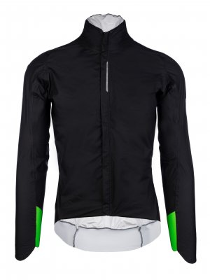 cycling rain jacket black R.Shell Protection X