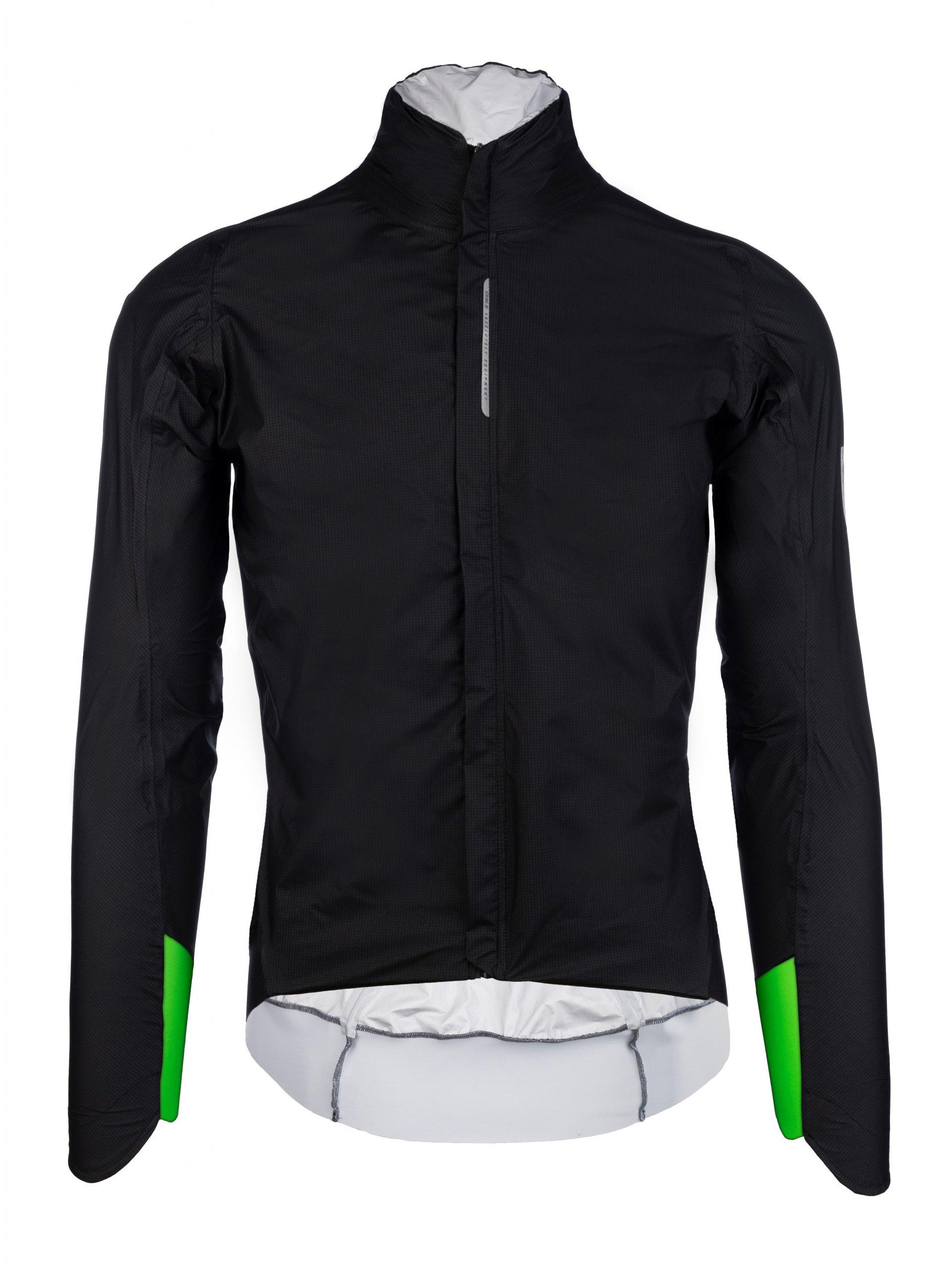 cycling rain jacket black R.Shell Protection X