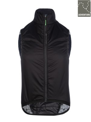 Mens adventure cycling insulation vest black Q36.5 - 061X.2