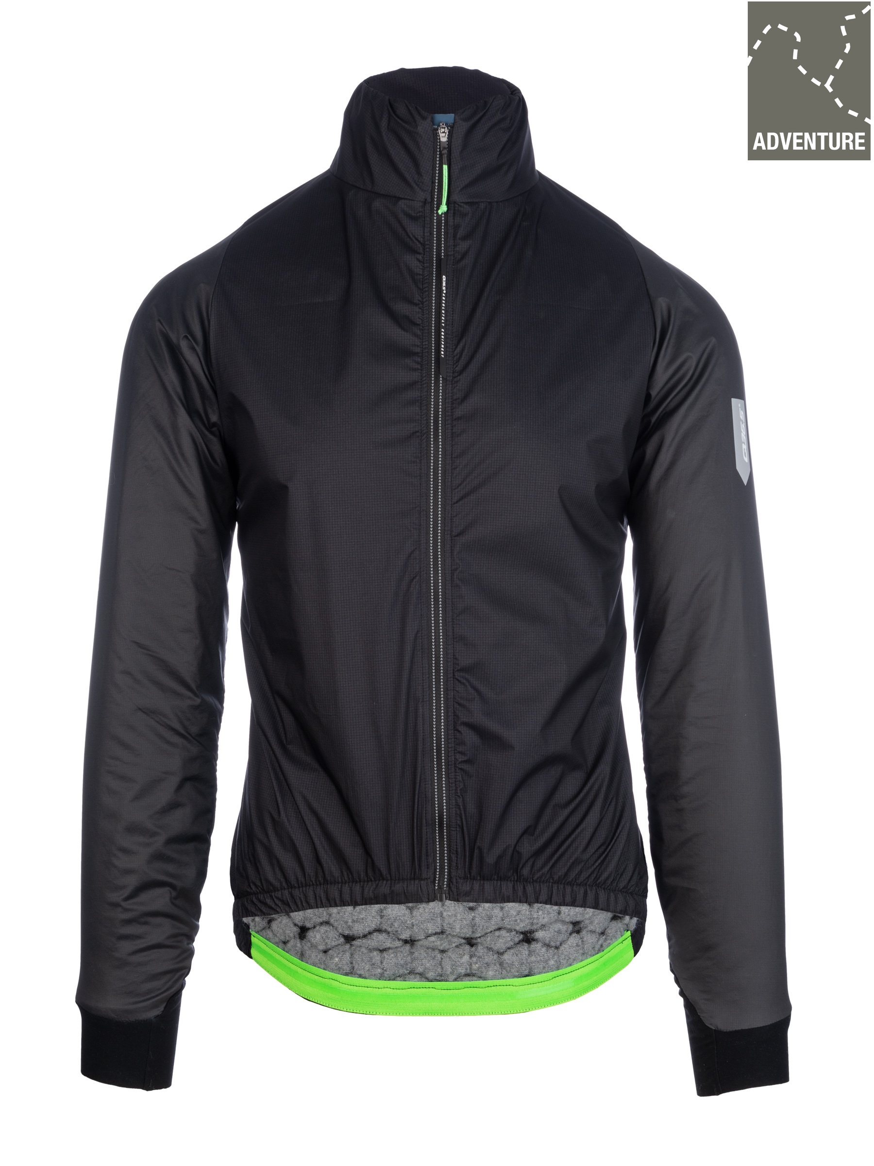 Mens adventure winter cycling jacket Q36.5 black - 062.2