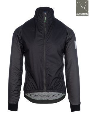 mens adventure winter jacket Q36.5 for men - black
