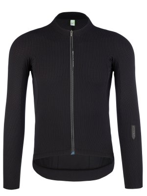 mens cycling jersey long sleeve Pinstripe X black Q36.5