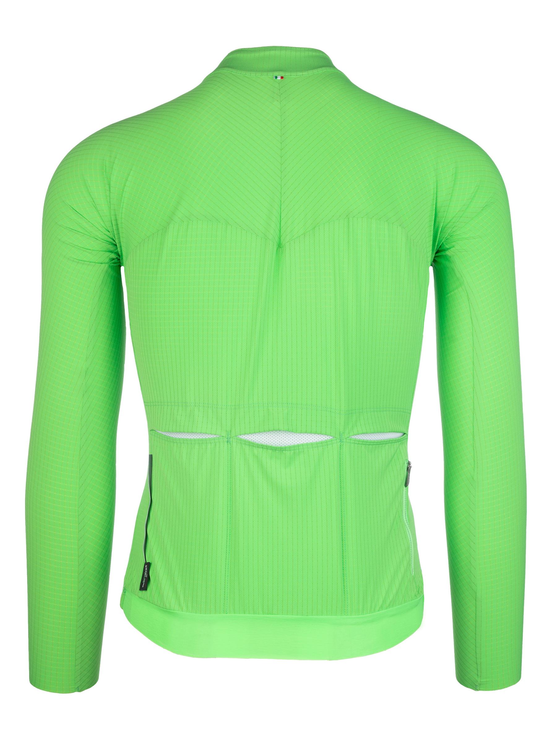 Jersey long sleeve L1 Pinstripe X green