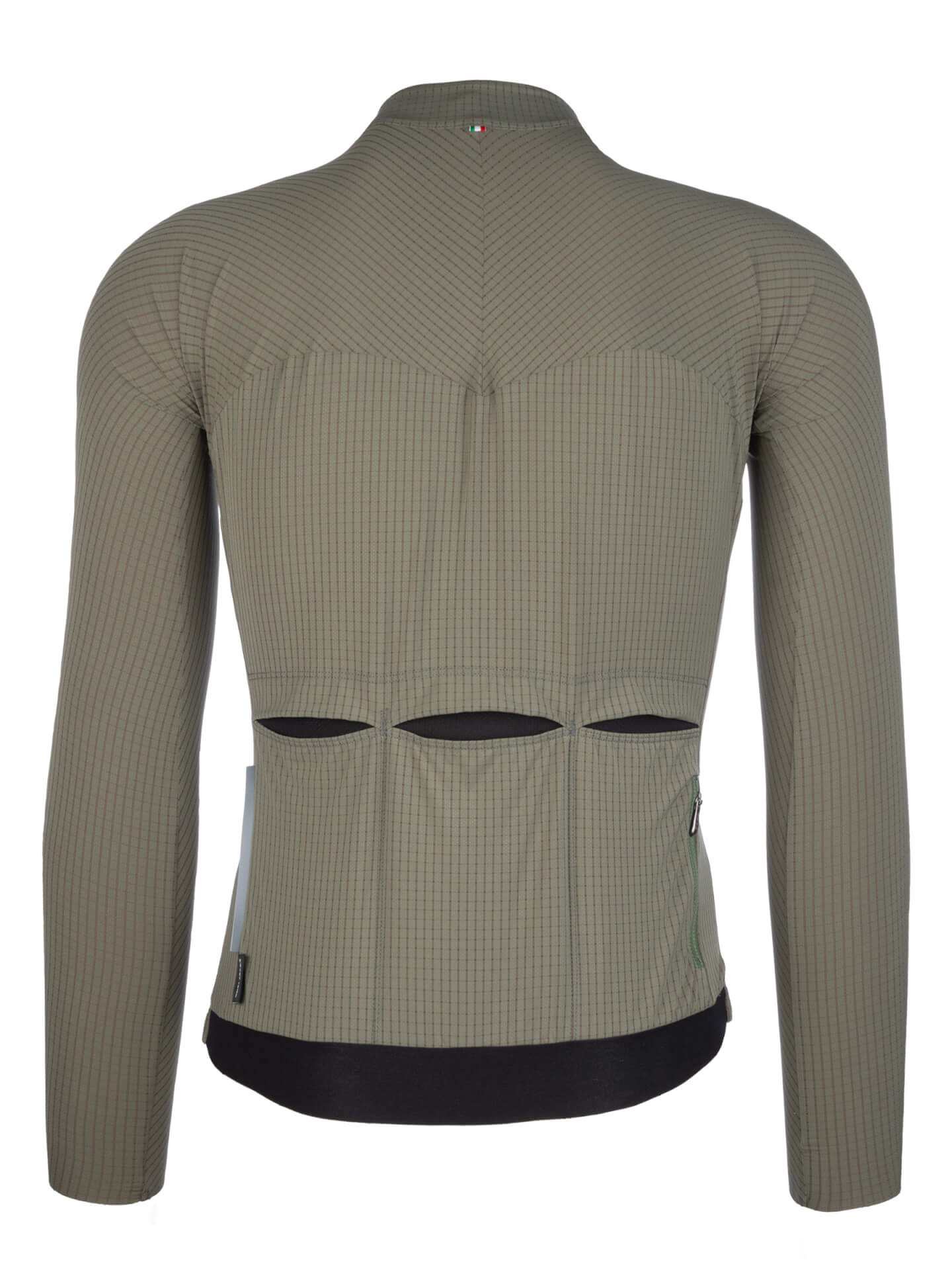 Jersey long sleeve L1 Pinstripe X olive green