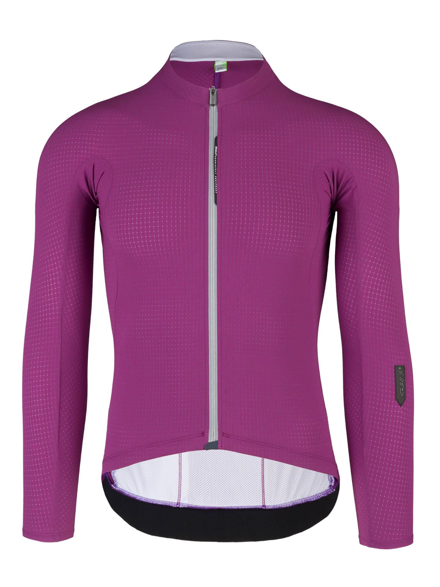mens cycling jersey pinstripe x purple 027x.11
