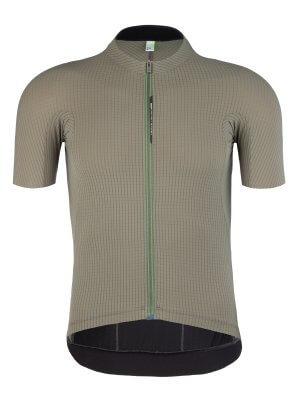 Maglia ciclismo uomo maniche corte Pinstripe X verdeoliva Q36.5