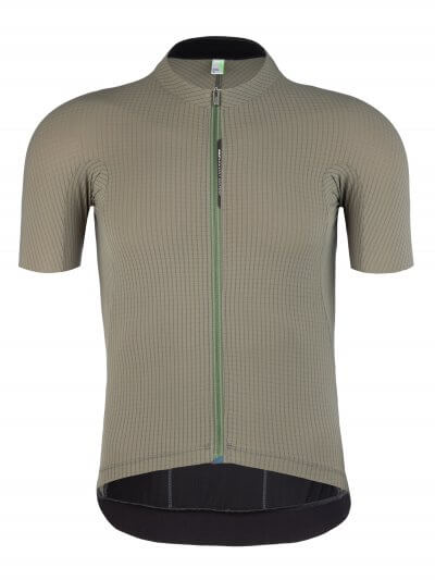 mens cycling jersey pinstripe x olive