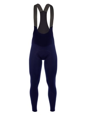 Culote ciclismo largo hombre Long Salopette L1 navy blue Q36.5 - 010X.9