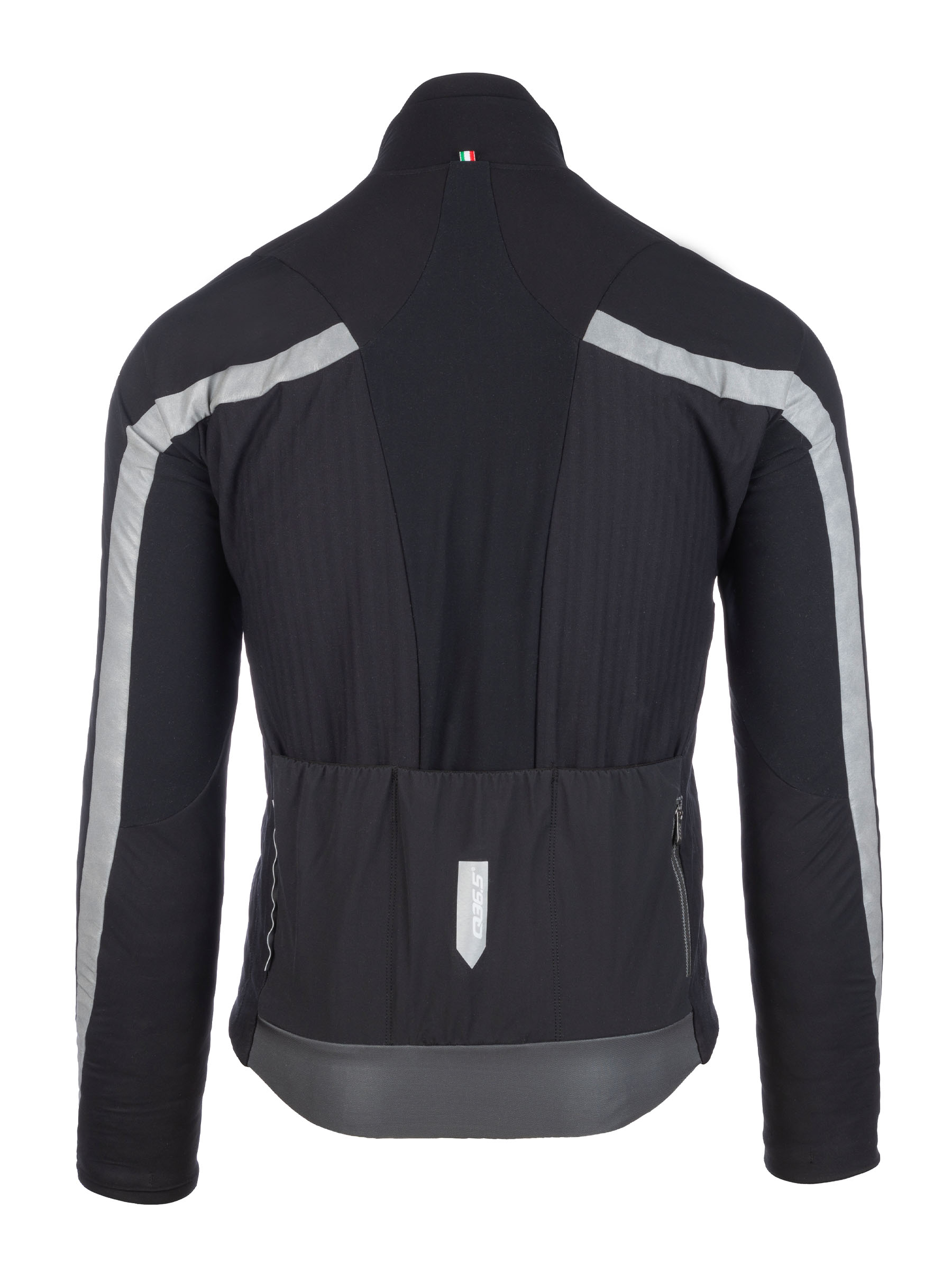 Mens cycling thermal jacket Interval Termica - 051.2 - black - back