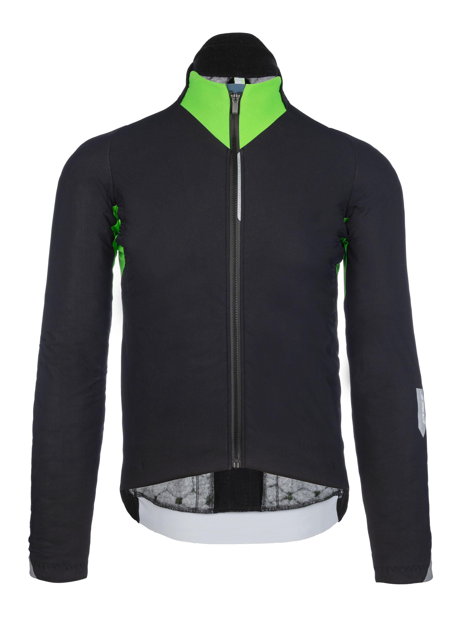 Chaqueta ciclismo invierno Interval Termica- 051.3 verde