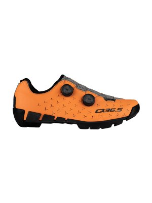 Zapatillas ciclismo MTB / gravel UNIQUE Adventure mango naranja
