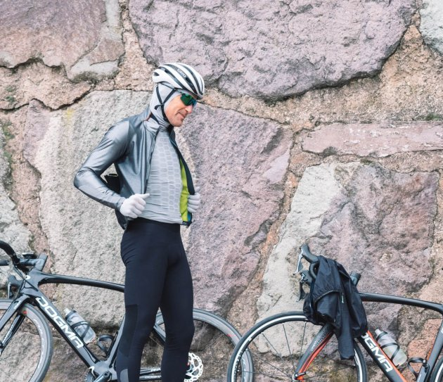 Thermal cycling gear - Winter cycling equipment