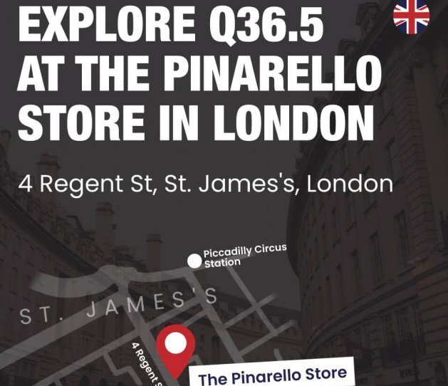 pinarello store london