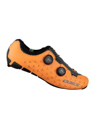 zapatillas ciclismo carretera unique naranja mango