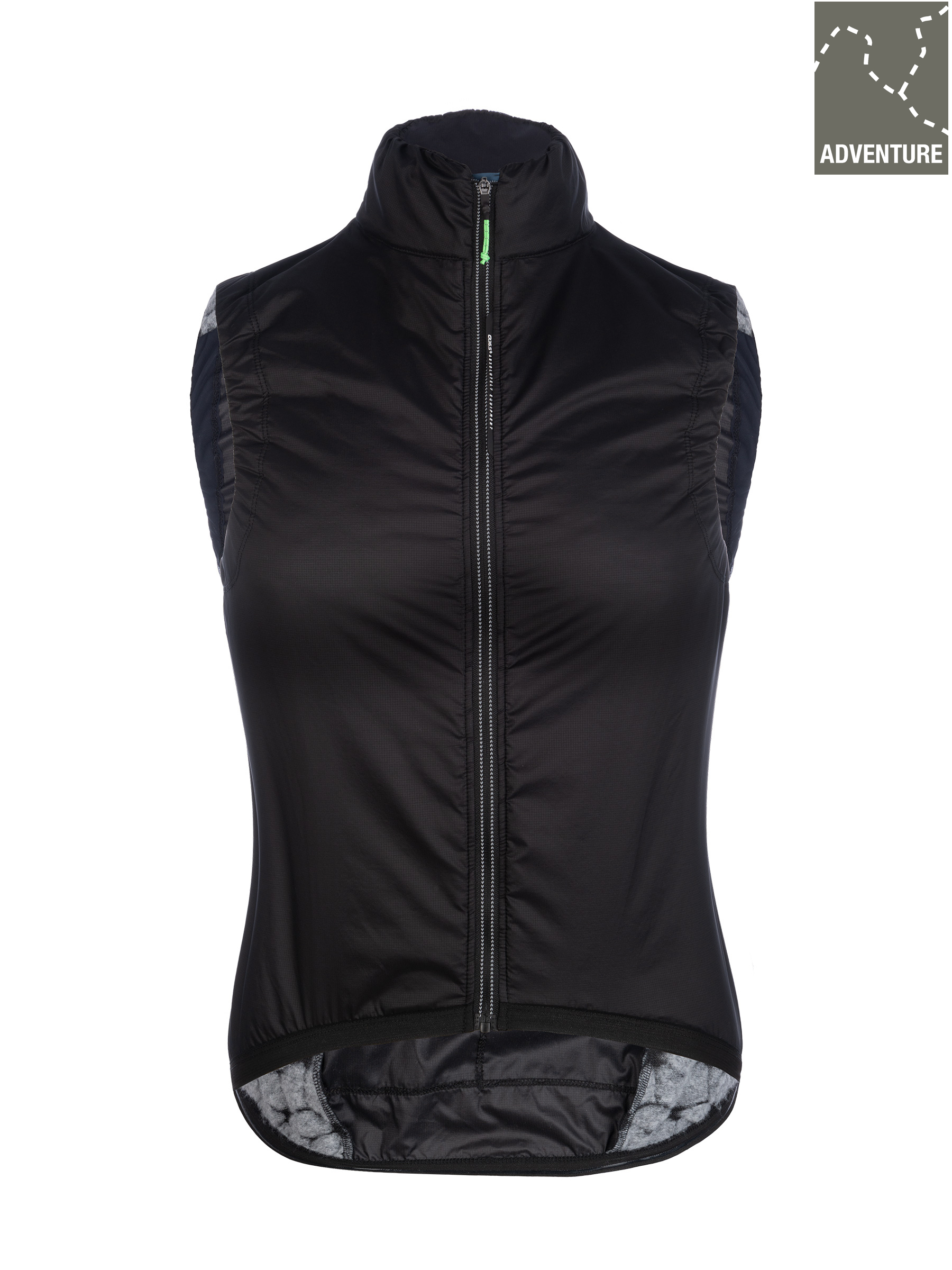 Gilet ciclismo donna Adventure Insulation Lady Q36.5 - nero - 061W.2