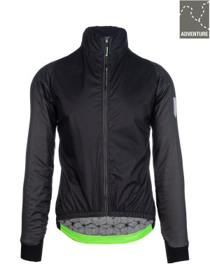 womens adventure winter cycling jacket Q36.5 - black - 062W.2