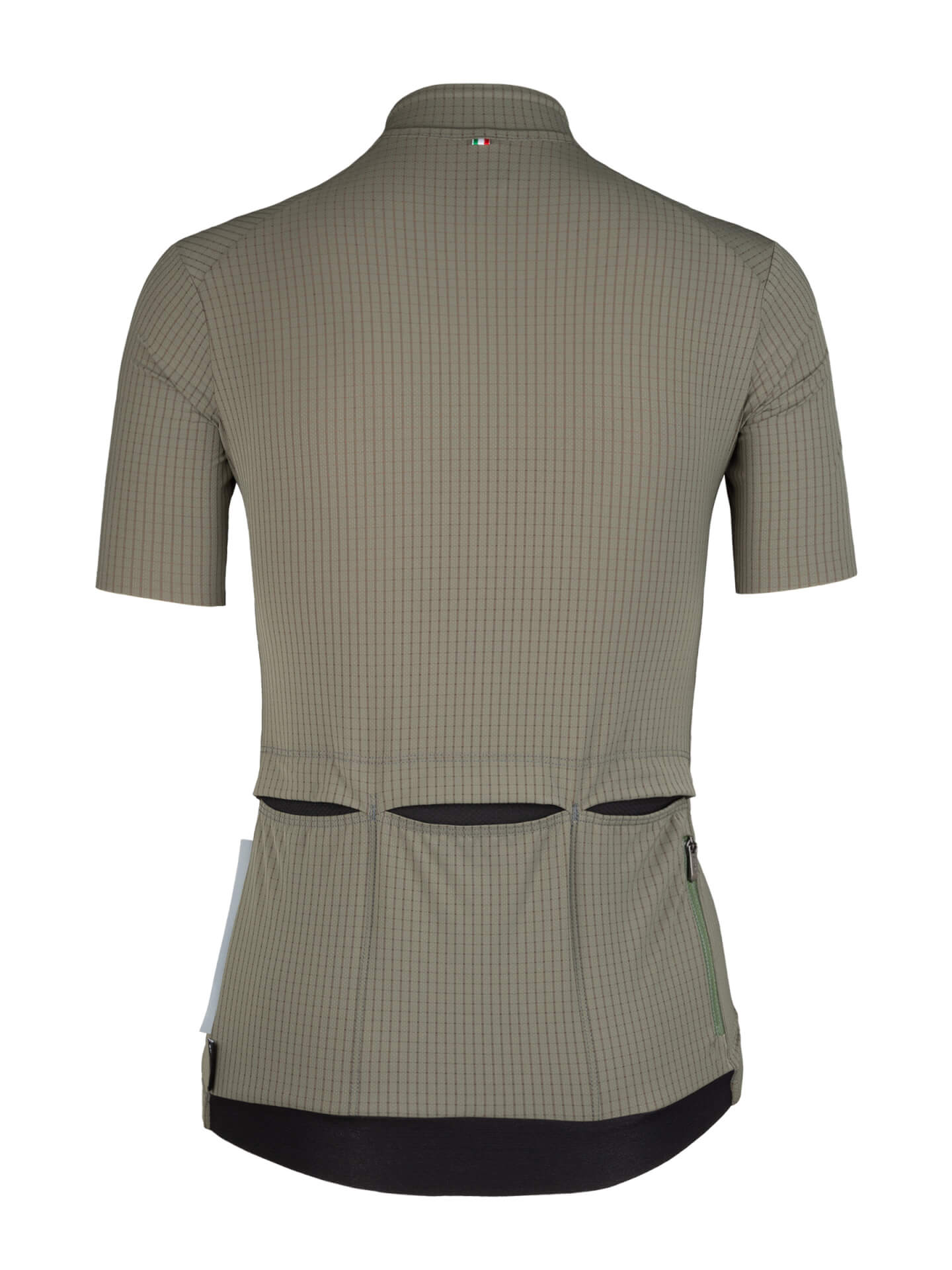 Maillot manches courtes L1 Woman Pinstripe X olive