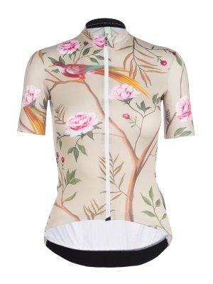 Maillot ciclismo manga corta para mujer G1 Japanese Garden Q36.5