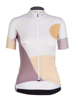 Maillot ciclismo manga corta para mujer G1 Woman Globe Trotter Q36.5