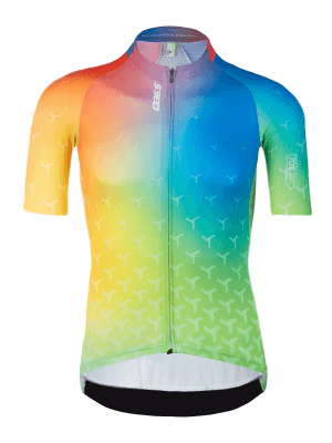 women's cycling jersey good vibes q36.5