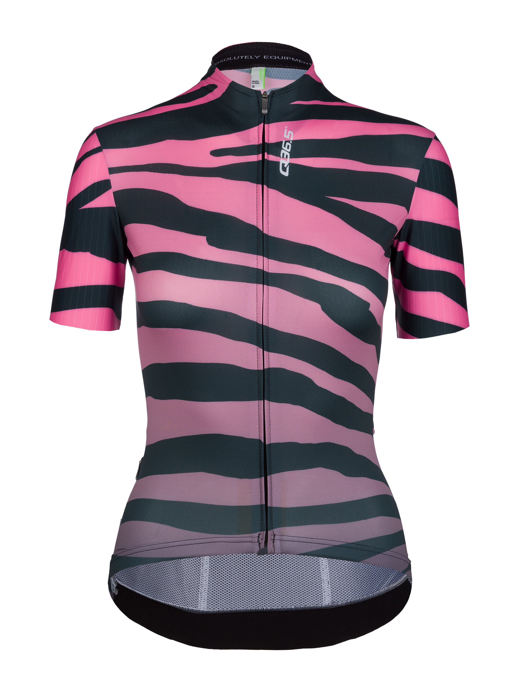 womens cycling short sleeve jersey G1 woman tiger pink