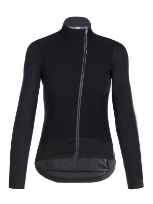 womens cycling jacket hybrid black - 044L.2