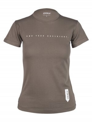 Womens t-shirt own your adventure