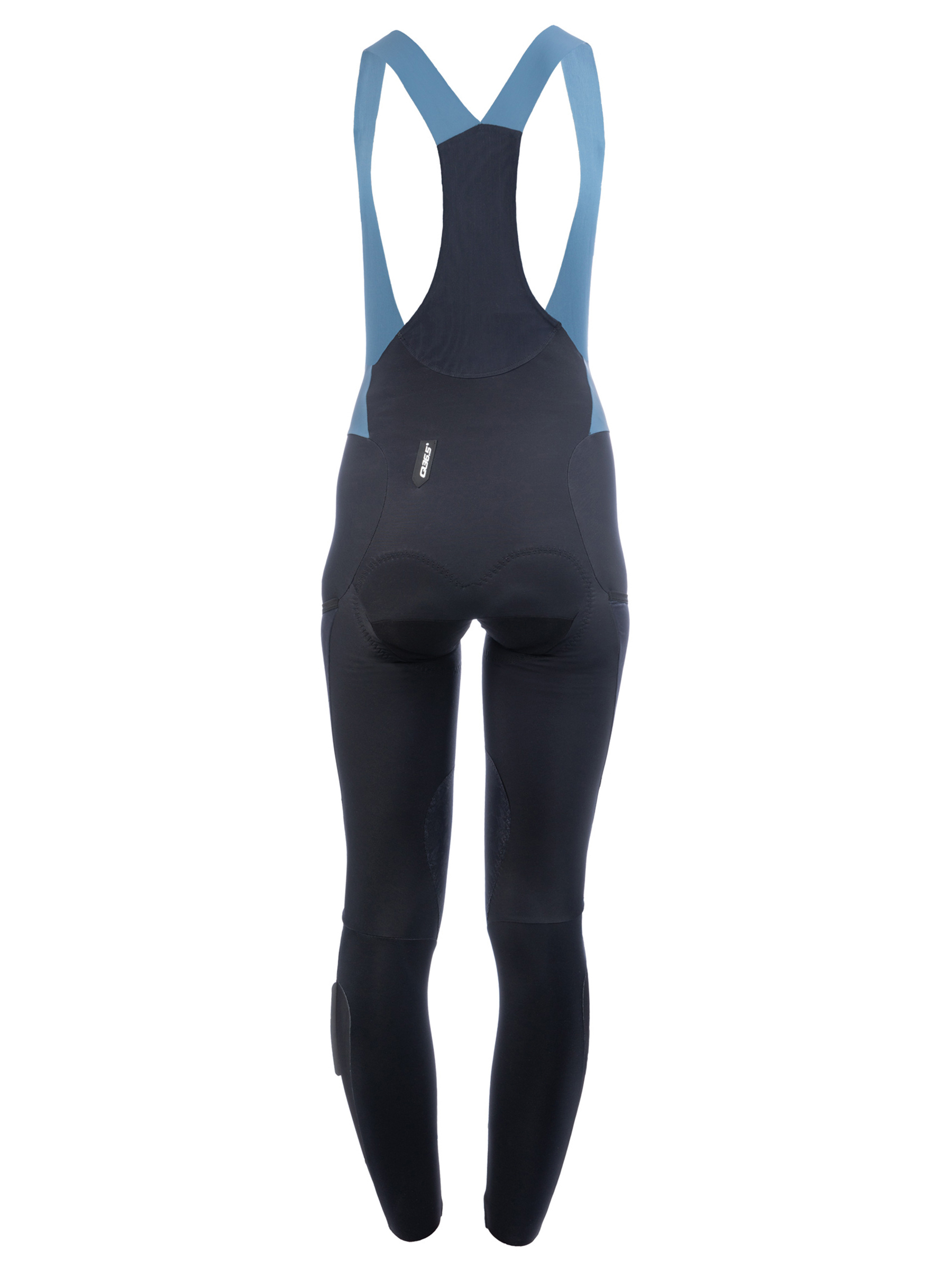 Lange Winter Trägerhose Adventure Lady in Schwarz
